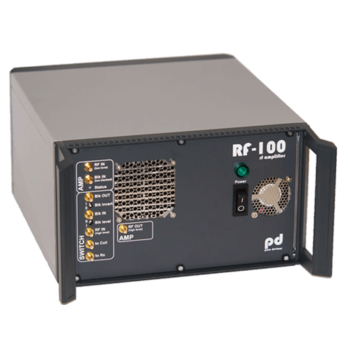 RF 100 radiofrequency amplifier